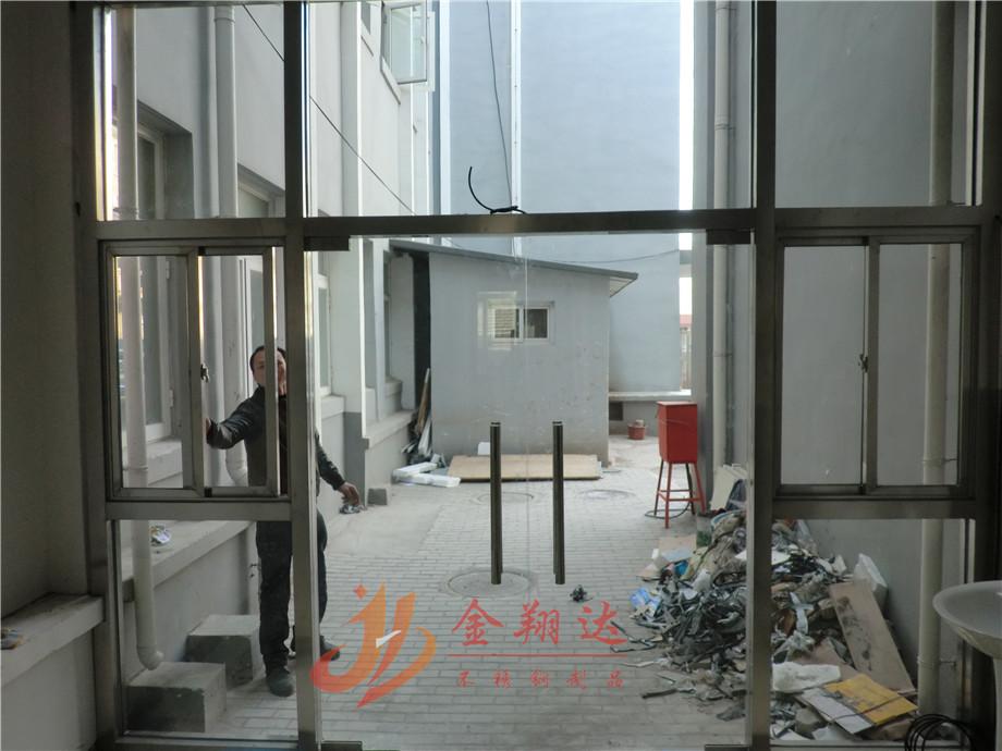 不锈钢门头造型_门头玻璃隔断_北京金翔达不锈钢制品有限公司