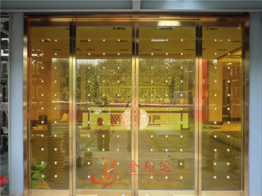 不锈钢门头造型_不锈钢门头_北京金翔达不锈钢制品有限公司